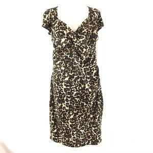 Stop Staring Dress Leopard Print Retro Rockabilly